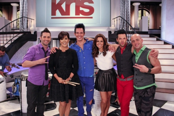 Recycled Percussion with Kris Jenner and Brooke Burke Charvet Photo