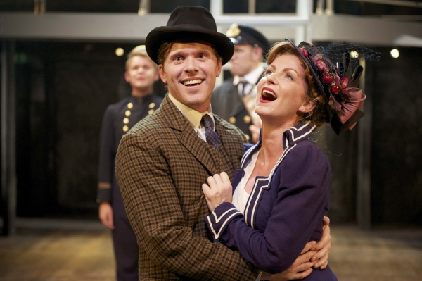 Oliver Hembrough (Edgar Beane) and Celia Graham (Alice Beane)