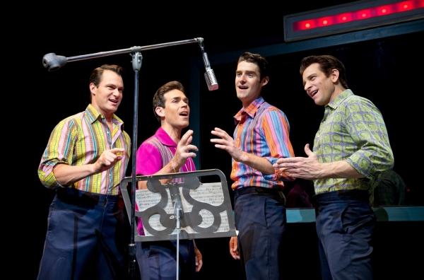 Matt Bogart, Dominic Scaglione Jr., Drew Gehling, Andy Karl