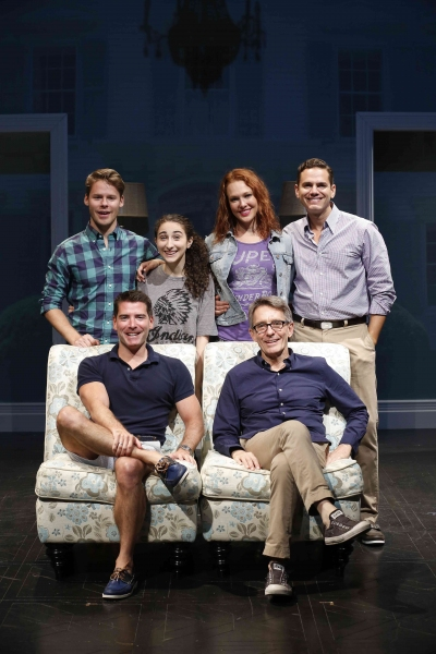 Randy Harrison, Alexis Molnar, Erin Cummings, Paul Anthony Stewart, Chad Beguelin, and Mark Lamos