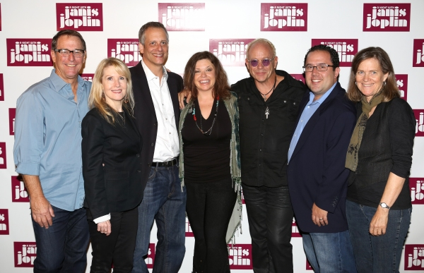 Michael Joplin, Patricia Wilcox, Dan Chilewich, Mary Bridget Davies, Randy Johnson, Todd Gershwin and Laura Joplin