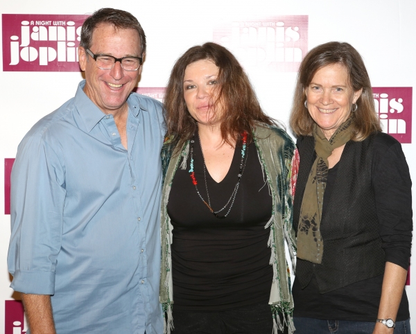 Michael Joplin, Mary Bridget Davies, Laura Joplin  Photo