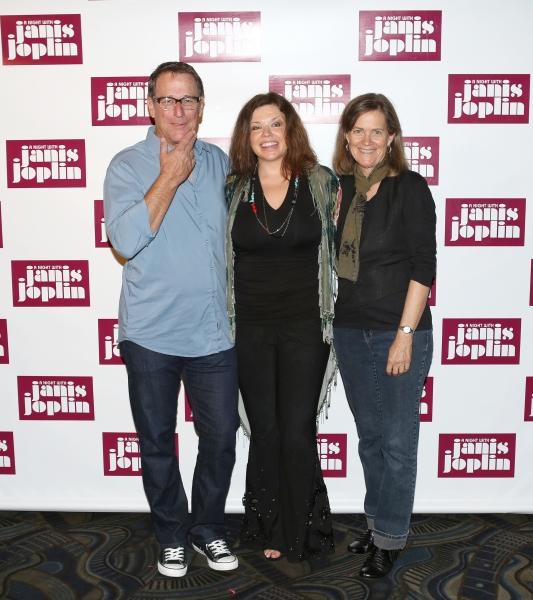 Michael Joplin, Mary Bridget Davies, Laura Joplin and Randy Johnson  Photo