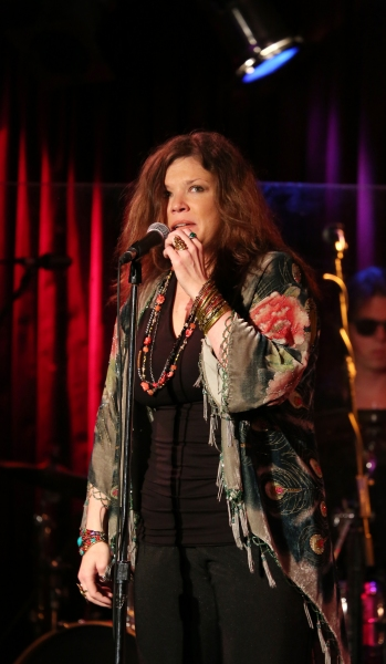 Photo Coverage: Mary Bridget Davies Previews A NIGHT WITH JANIS JOPLIN