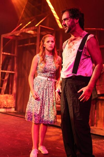 Haley Jane Schafer and Michael Vaughn