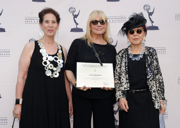 Academy Governor Betsey Potter, Emmy Nominee for ''Behind Thee Candelabra'' Ellen Mirojnick and Curator/President of the Costume Designers Guild/Academy Governor Mary Rose