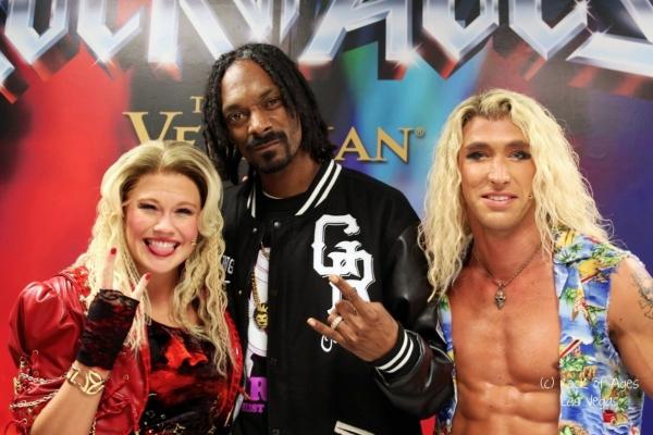 Carrie St. Louis, Snoop Dog (aka Snoop Lion), Kyle Lowder