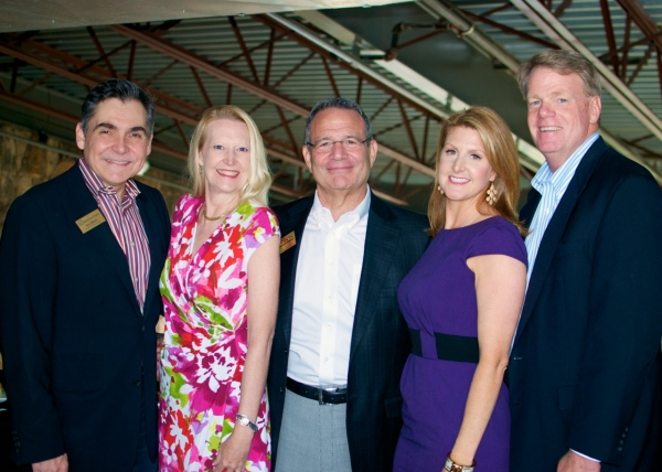 Terry Martin, Eileen Resnick, Neil Resnick, Janelle Moore, Blake Clemens Photo