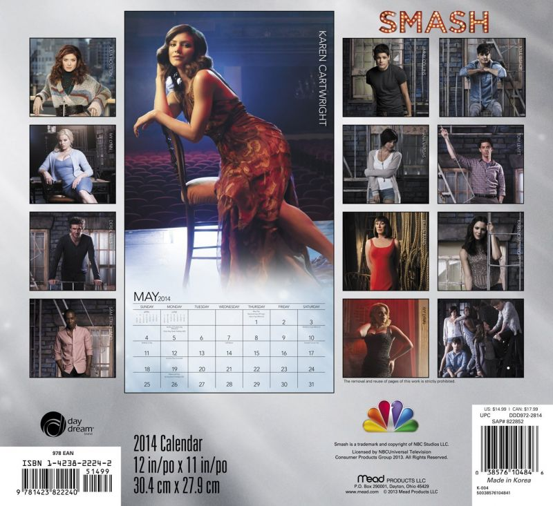 SMASH 2014 Wall Calendar Now Available