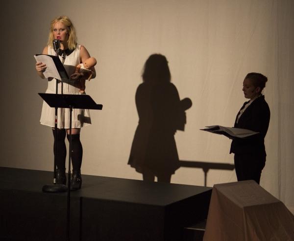 Kirsten deLohr Helland and Rebecca Fisher
