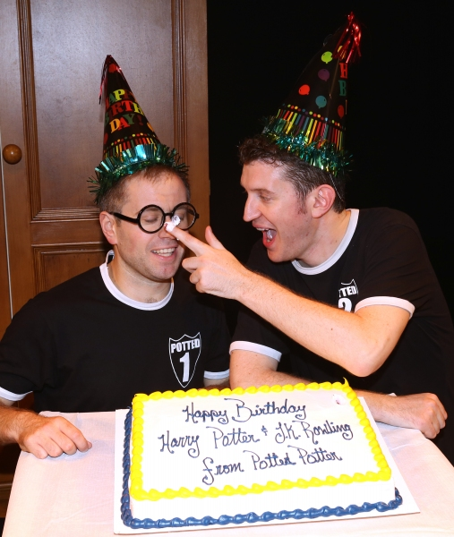 Photo Coverage: Backstage at POTTED POTTER's Birthday Celebration!
