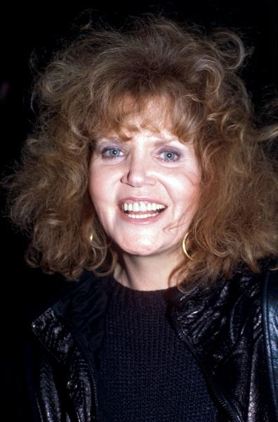 Eileen Brennan in New York City, 1985.