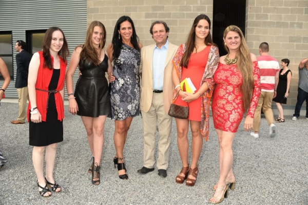 Alyssa Renzi, Antonella Rosen, Bob Rosen, Carolina  Braedt, and Bonnie Comley