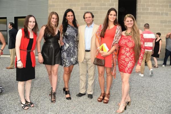 Alyssa Renzi, Antonella Rosen, Bob Rosen, Carolina  Braedt, and Bonnie Comley