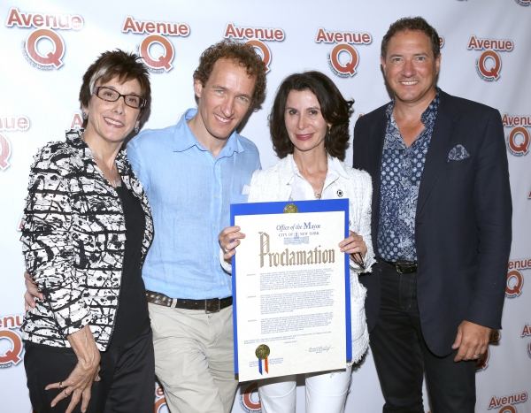 Photo Coverage: Bobby Lopez, Jeff Whitty & More Gather for AVENUE Q's 10th Anniversary!
