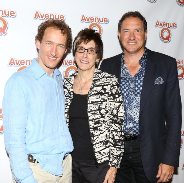 Jeffrey Seller, Robyn Goodman and Kevin McCollum