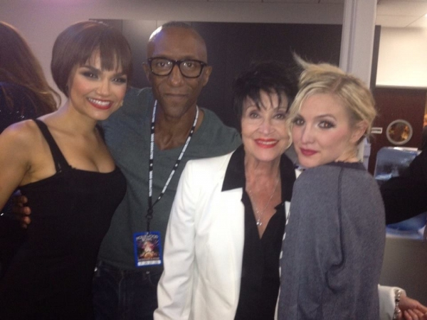 Samantha Barks, Greg Butler, Chita Rivera, Ashley Simpson