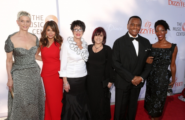 Patricia Ward Kelly, Paula Abdul, Chita Rivera, Lisa Mordente, Arthur Mitchell and Guest