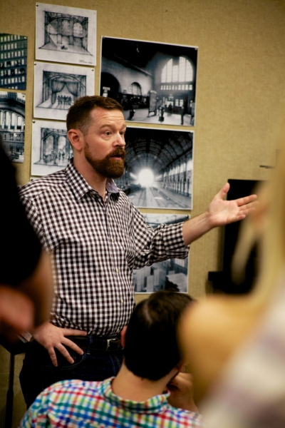 Costume and Scenic Designer Tobin Ost