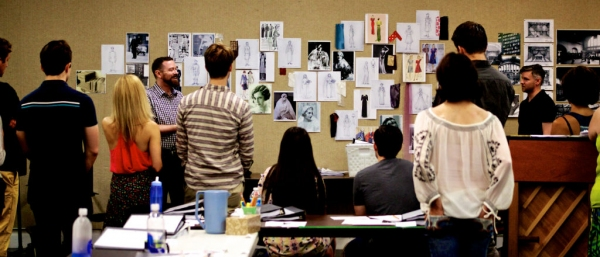Costume and Scenic Designer Tobin Ost and Director Tony Speciale