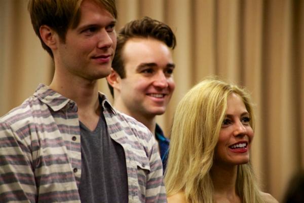 Will Taylor, Charles Osborne, and Leigh Ann Larkin