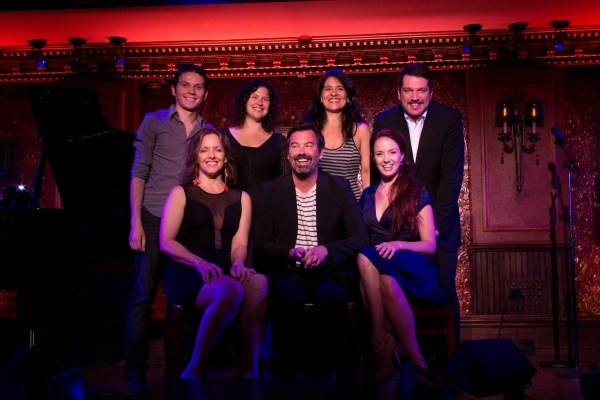 top: Anat Cohen, Maucha Adnet, Paulo Szot, bottom: Alice Ripley, Duncan Sheik, Sierra Boggess