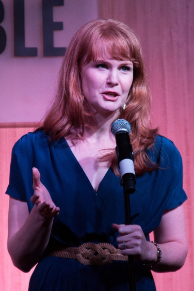 Photo Coverage: Kate Baldwin, Brian D'Arcy James & PJ Griffith Sing GIANT at Barnes & Noble!
