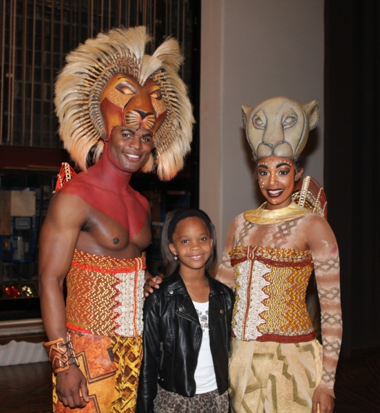 Andile Gumbi, Quvenzhane Wallis and Chantel Riley