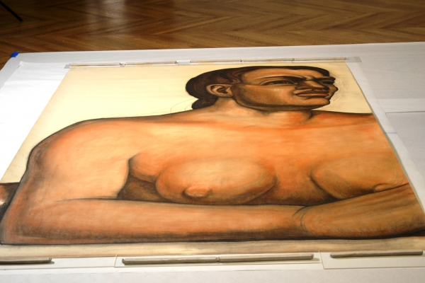 Rare Preparatory Drawings of Diego Rivera's Detroit Industry Murals Scientifically Analyzed