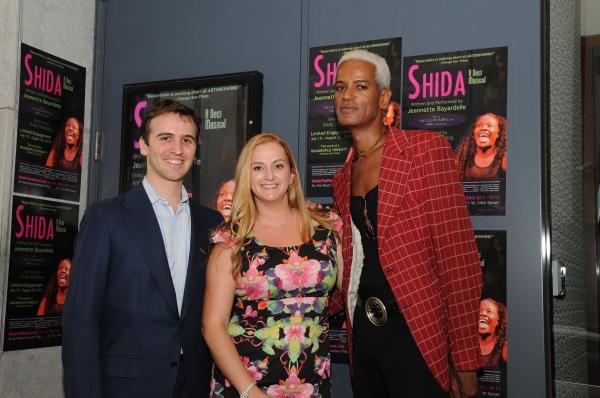 Andy Sandberg, Whitney Hoagland Edwards and Thomyss Harmon Photo