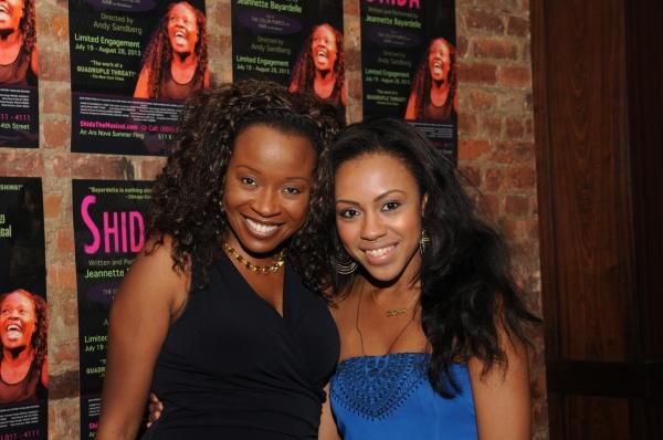 Jeanette Bayardelle and Sasha Allen