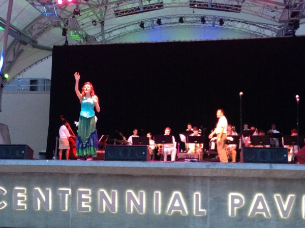 Photo Coverage: CCT Kicks Off 50 Years with CYJO and THE LITTLE MERMAID JR in a Night Under the Stars at Columbus Commons