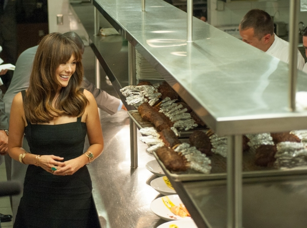 Lindsay Price sneaks into the kitchen to see Curtis Stone cooking