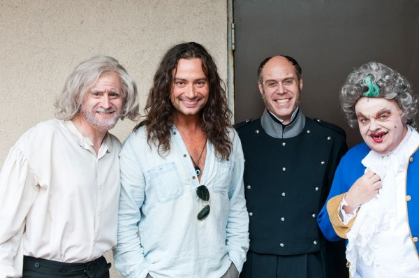 Bart Shatto, Constantine Maroulis, Todd Alan Johnson and Kelly Briggs