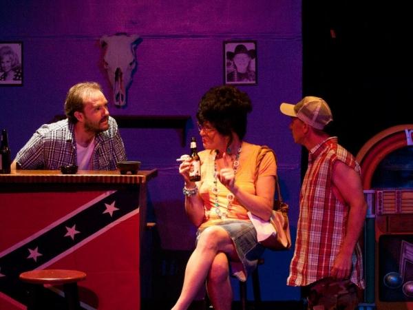 Patrick Brownson as Wardell, Dale Haltom as Juanita, and Gracen Porreca as Odell