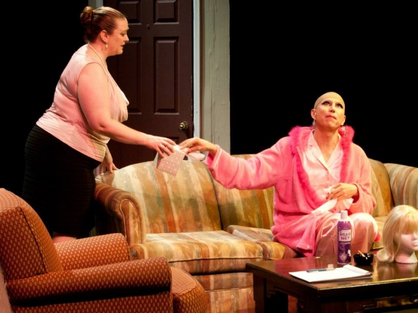 Boni McIntyre as Dr. Eve and Kevin Leonard as Brother Boy