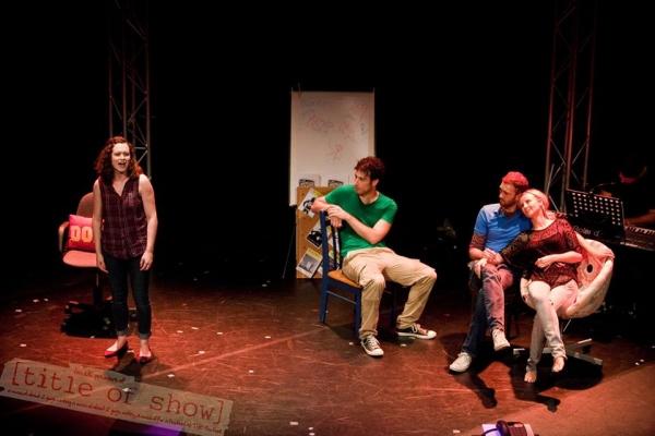Jamie Lee Pike, Ricky Johnston, Robbie Towns and Carley Stenson Photo