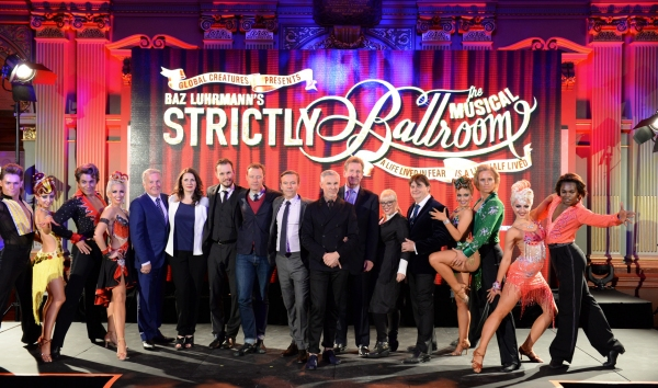 Photos: Baz Luhrmann's STRICTLY BALLROOM THE MUSICAL Holds Splashy Launch in Sydney; Tickets on Sale August 12; Opens March 2014