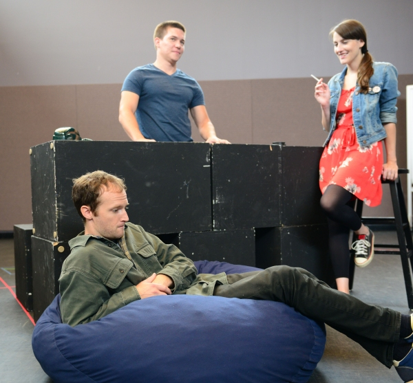 L to R: Alex Pollock as Warren; Jimi Stanton as Dennis and Amanda Collins as Jessica  Photo
