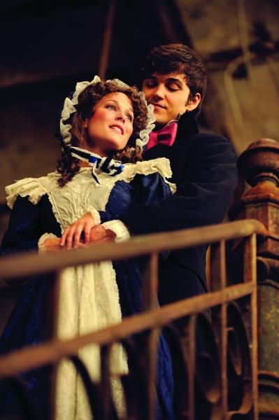 Elisabeth Hipp as Cosette & Jordan Nichols as Marius