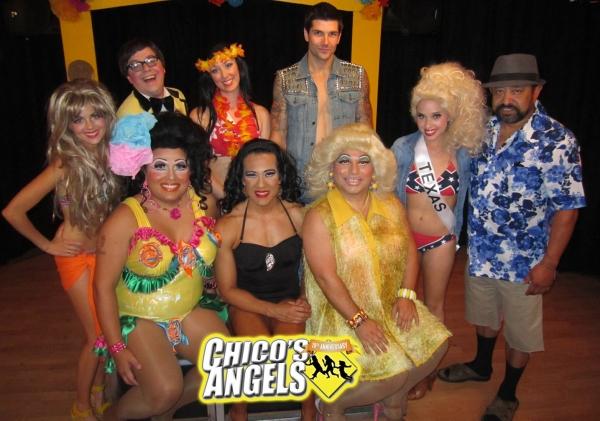 Photo Flash: Corinna Tsopei and Brook Lee Visit CHICO'S ANGELS on Closing Night