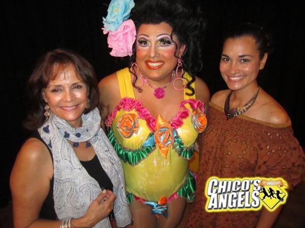 Corinna Tsopei, Brook Lee, Kay Sedia