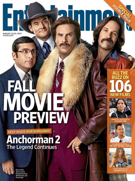 Will Ferrell, Steve Carell, David Koechner and Paul Rudd