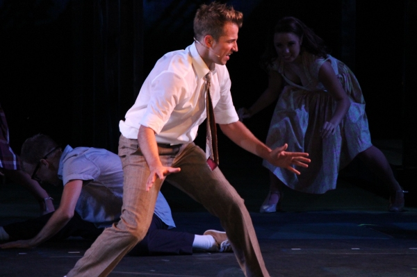 Photo Flash: First Look at Kyle Dean Massey, Ali Ewoldt & More in WEST SIDE STORY at the MUNY!