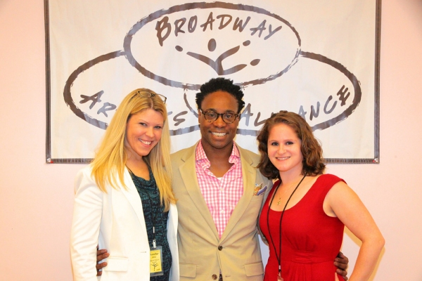 Jennifer Johns, Billy Porter, and Michelle R. Lehrman Photo