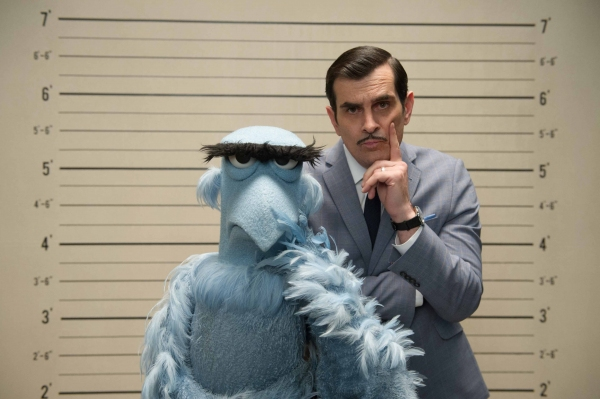 SAM THE EAGLE and JEAN PIERRE NAPOLEON (Ty Burrell)