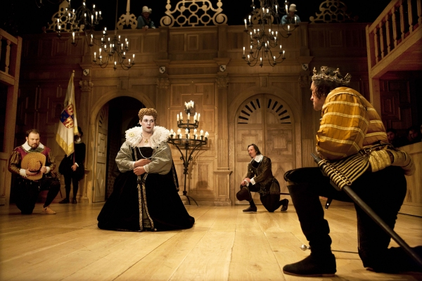 John Paul Connolly, Samuel Barnett (Queen Elizabeth), Peter Hamilton Dyer and mark Rylance (King Richard III)