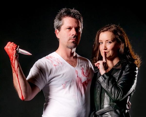 Christian Casper (Macbeth) and Gretchen McGinty (Lady Macbeth)