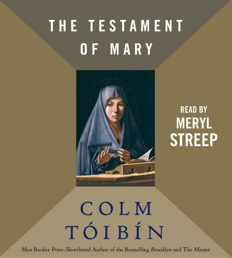Meryl Streep's THE TESTAMENT OF MARY Audio Book Out 9/10
