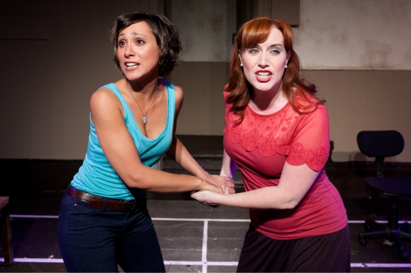 Sophia Ragavelas and Sarah Galbraith  Photo